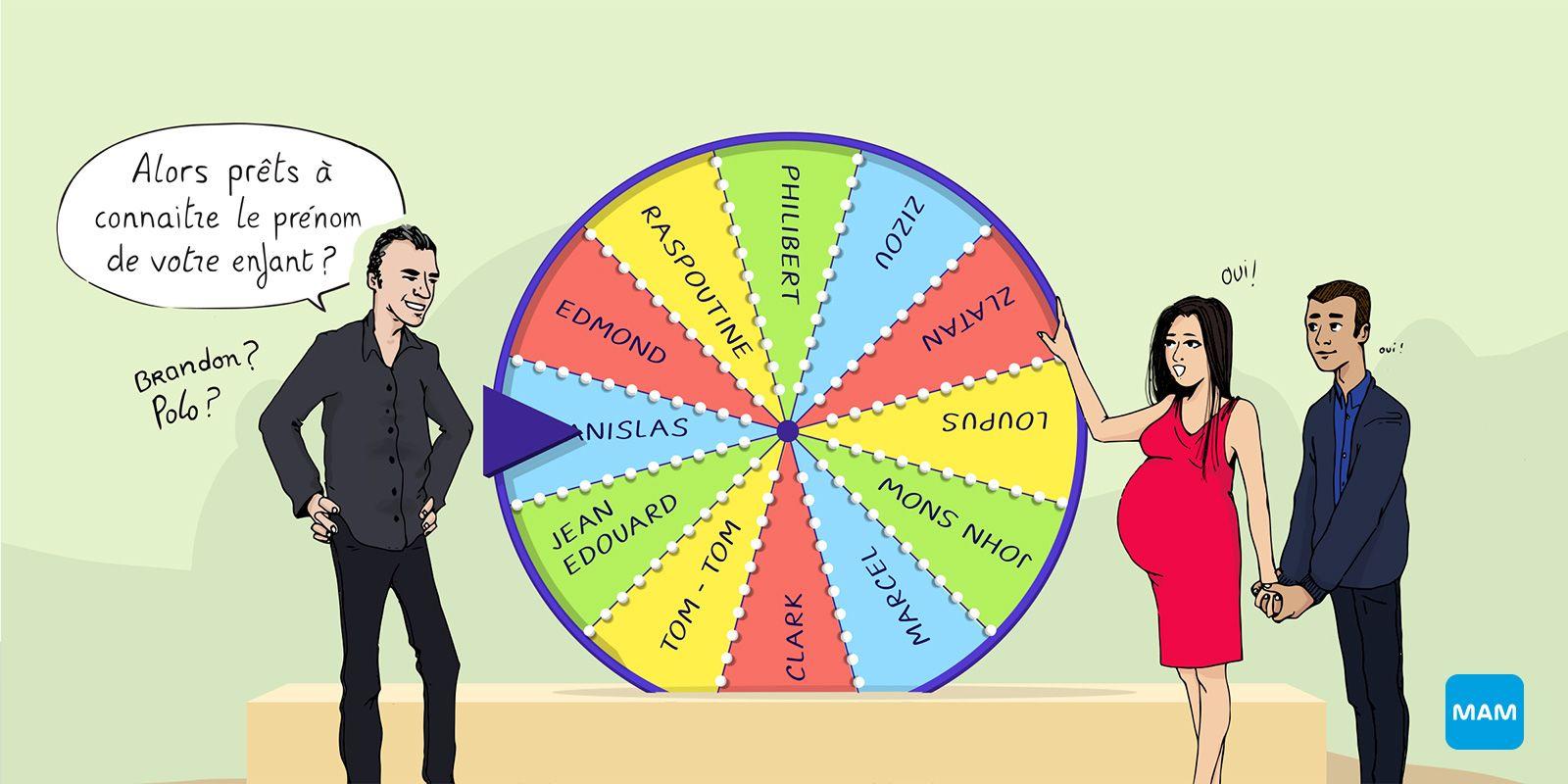 Choix du prénom de bébé - 2eme trimestre de grossesse - Bonjour Grossesse