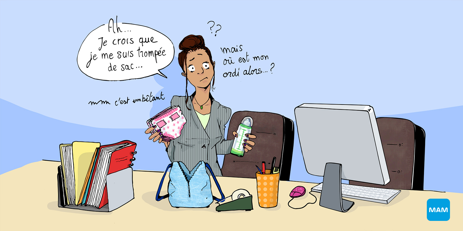 Pr parer la reprise du travail apr s la grossesse bonjour grossesse - Jeu de travail au bureau ...