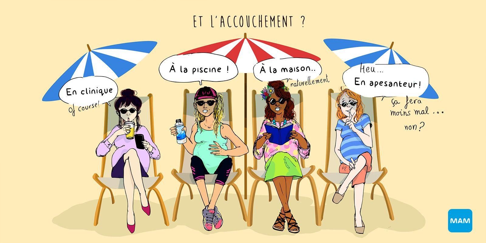 Les différents types d'accouchement - Naissance - Bonjour Grossesse