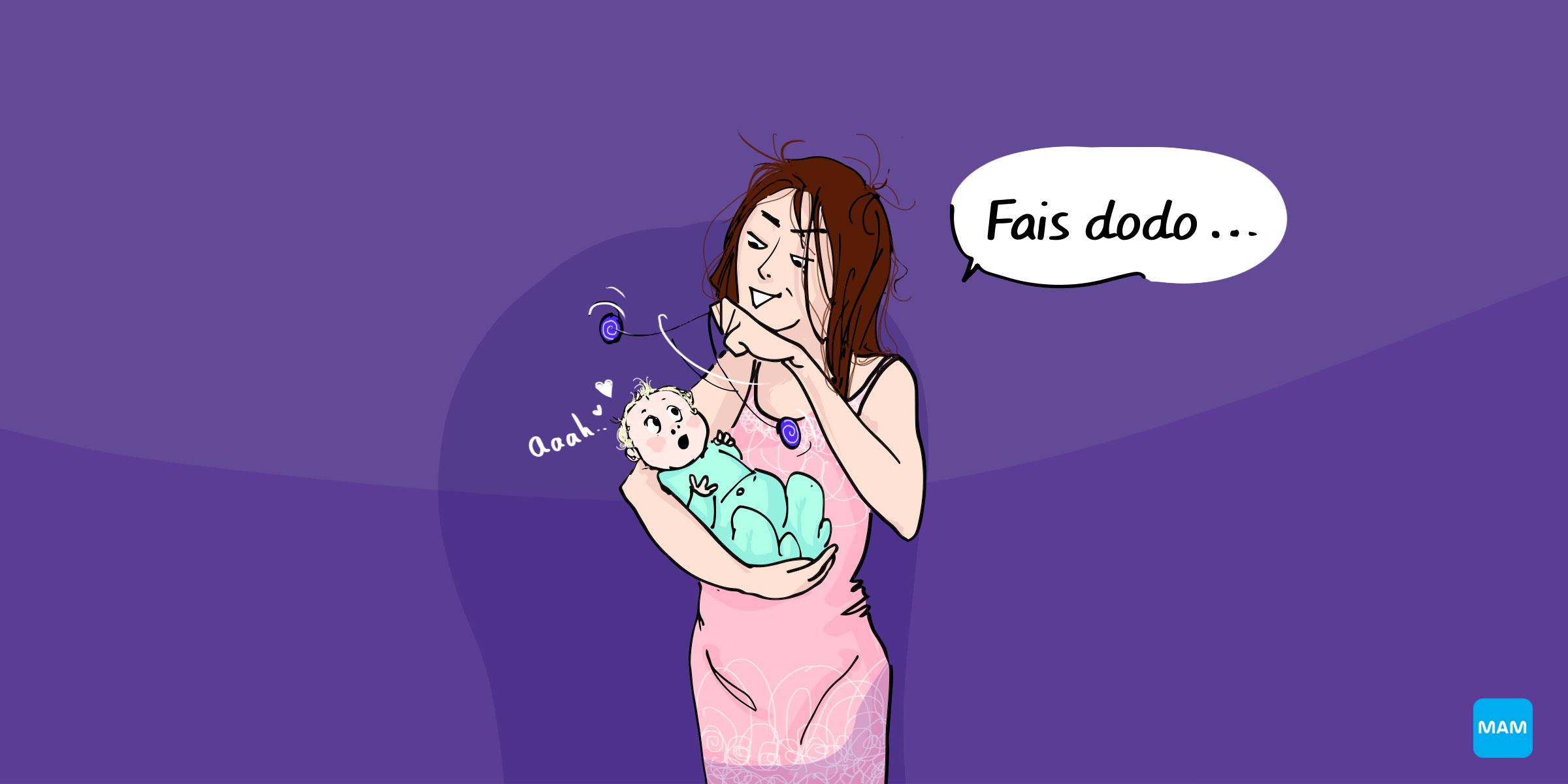 Ces choses auxquelles on pense quand bébé nous réveille la nuit - 1er mois 2eme mois - Bonjour Grossesse